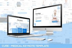 Cure - Powerpoint Template Get it now! a simple & Clean Template for your Business presentation, suitable for anykind purpose especially for Medical, Health, Presentation Design Template, Business Presentation, Design Templates, Image Layout, Medical, Business Brochure, Keynote Template, Color Themes, Colors