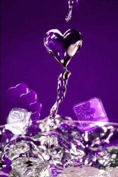 Plum Art, Purple Art, Purple Love, All Things Purple, Shades Of Purple, Purple And Black, Purple Stuff, Cute Galaxy Wallpaper, Heart Wallpaper
