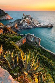 Beautiful view of Porto Venere, Italy! #travel #italy #beautifulview