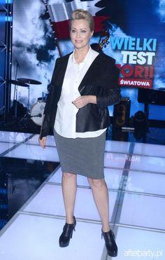 Agnieszka Wagner na Wielki Test z Historii