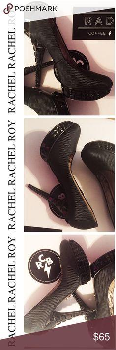 RACHEL Rachel Roy Black Platform Pumps Size 6.5 RACHEL Rachel Roy Black Platform Pumps Size 6.5 These heels 👠 will give you the longest legs! 👯 Rachel Roy Shoes Platforms