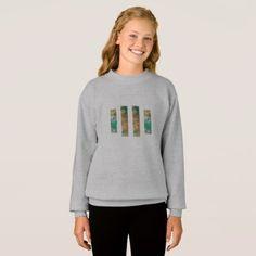 #trendy - #Kids/women sweater/t-shirt Green Love Sweatshirt