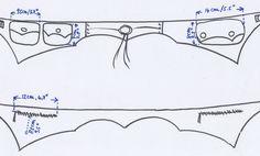 Patrón cinturón bolsillos