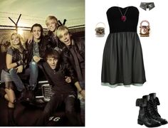 """If I Were In R5 55"" by jordybell ❤ liked on Polyvore"