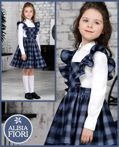 Frocks For Girls, Dresses Kids Girl, Girl Outfits, Fashion Sewing, Fashion Kids, Kids Frocks Design, Dress Anak, Baby Dress Patterns, Frock Design