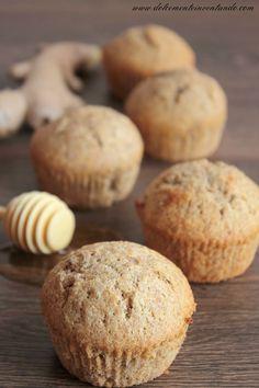 Dolcemente Inventando : Muffins integrali al miele e zenzero e Antiaging con gusto