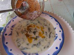 Yogurt Soup with Spinach/ İspanaklı Yoğurt Çorbası |