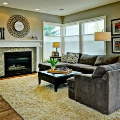 Contemporary Family Room Design, Pictures, Remodel, Decor and Ideas - page 50
