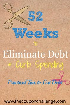 Do you want to get out of debt?  Join us for the 52 weeks to eliminate debt & curb spending challenge.  I want all of you to feel the joy of not owing your hard-earned money to someone else.  Make sure to also grab the FREE financial planner! debt free debt freedom #debt #debtfree #savemoney