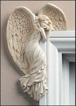 Guardian Angel Figurines for sale. We have a growing selection of Guardian Angel Figurines Collectibles. Beautiful Male Guardian Angel Figurines as Angelic Gifts & Collectables for everyone! Angel Decor, Angel Art, Keramik Design, Angel Statues, Guardian Angels, Angel Wings, Creations, Doors, Crafty