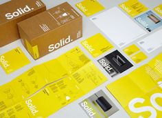 Solid Light cool packaging from Terence Woodgate