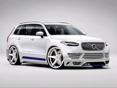 Modified XC90 rendered by Luis Baston.