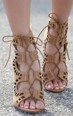 Anne Michelle Rapture-62 Gladiator Heels