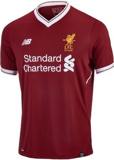 2017/18 Kids NB Liverpool Home Jersey. At SoccerPro now.