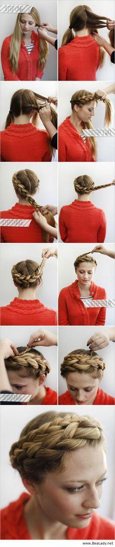 How to halo braid - BeaLady.net