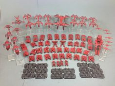 Still have another 12 stands of Legionnaires to finish, but I won't be getting to them for a long while, and am delivering the rest of the . Sci Fi Miniatures, From The Ground Up, Army, Drop Zone, Soldiers, Scale, Rest, Games, Planes