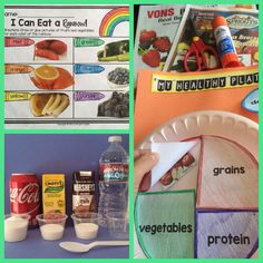 Healthy Eating Nutrition activities {food group fun}...Put those weekly grocery ads to good use!