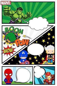 Festa do ry Baby Avengers, Avengers Birthday, Superhero Birthday Party, 4th Birthday, Birthday Parties, Hulk Party, Batman Party, Avenger Party, Heros Comics