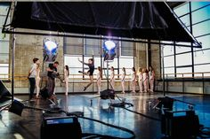 Exclusive: Why Maddie Ziegler Loves Dance Studio Lighting Setups, Tv Lighting, Light Cinema, Lighting Techniques, Maddie Ziegler, Dance Moms, Light Photography, On Set, Cinematography