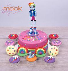 Equestria Girls cake