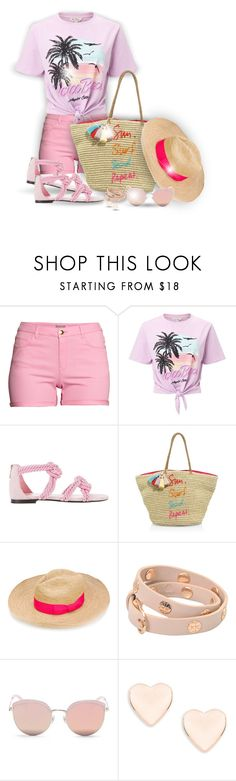 """""""Straw Bag or Hat...With a Quote! (OUTFIT ONLY!)! - Contest!"""" by asia-12 ❤ liked on Polyvore featuring H&M, Miss Selfridge, Maison Ernest, Rebecca Minkoff, Sensi Studio, Tory Burch, Stephane + Christian and Ted Baker"""