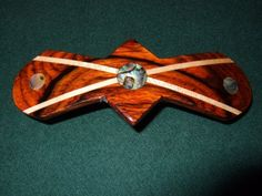 Wood Wooden Barrette Hairclip Coco Bolo Large by Thingsinwood18, $36.00