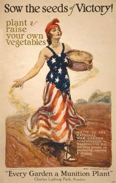 Fourth of July Vintage Ads - Victory Garden