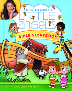 We love using the Little Angels Bible Storybook for Bible Time with the little ones.