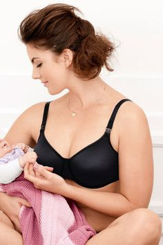 dd34e7633b106 Anita maternity nursing bra with underwire made in breathable Microfiber  with soft