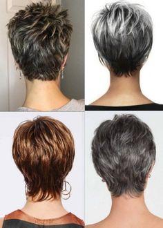 Thin Hair Short Haircuts, Short Natural Curly Hair, Funky Short Hair, Short Hairstyles Fine, Short Thin Hair, Short Grey Hair, Short Hair Older Women, Haircut For Thick Hair, Short Hair Styles Easy