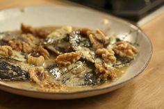 Try these Stilton-stuffed Portobello mushrooms by Nigel Slater.