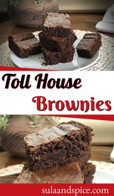 Chocolate lovers take note! Homemade brownies are so easy and delicious! This recipe uses chocolate chips. Half the bag melts to make the batter. For double chocolate, add the other half just before baking for chocolate chips within your baked brownie. Extra chocolate! #browniesrecipe #browniesfromscratch #doublechocolate #tollhousebars