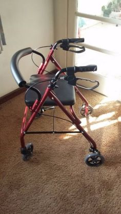 Brand new walker in perfect condition. Ideal for geriatrics or those learning to walk again. Folds up easily and takes up minimal space. Strong handle bars with an easy grip. Equipped with brakes controllable with 1 or both hands. Fitted with a comfortable seat and cushy back support to sit down and rest when fatigued. Price is negotiable.