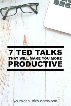 Inspiring TED Talks Productivity Tips Personal Development Plan 7 TED talks that will make you more productive Ted Talks, Self Development, Personal Development, Essayist, Time Management Tips, Self Improvement, Business Tips, Business Entrepreneur, Business Quotes