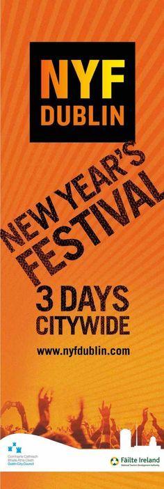 New Year Festival #civicmedia2014 #civicmedia2015 Street Banners www.civicmedia.ie