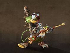 Donald Steampunk - La boite verte