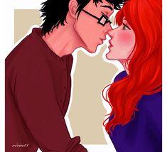 c'mon,Evans,just one kiss.. by viria13.deviantart.com on @deviantART