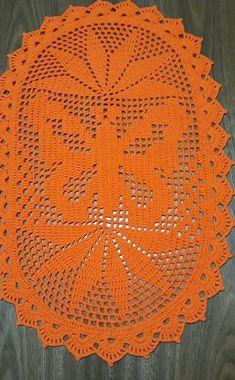 Crochet doily, farmhouse placemats, flower doilies, country house decor, set of 6 pcs Doily Patterns, Knitting Patterns, Crochet Patterns, Filet Crochet, Unique Crochet, Vintage Crochet, Lace Doilies, Crochet Doilies, Farmhouse Placemats