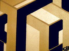 Link (Flock) Wallpaper Onyx (10935-905) – James Dunlop Textiles | Upholstery, Drapery & Wallpaper fabrics