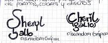 bocetos de mi firma para diseño Gráfico