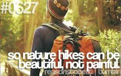 nature hikes, get more outta it