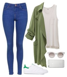 """Untitled #740"" by lelephant ❤ liked on Polyvore featuring Topshop, adidas, Uniqlo, Sun Buddies and Native Union"