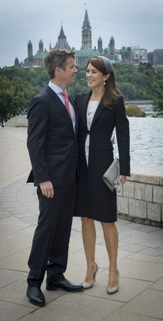 PRINCESS MONARCHY - Crown Prince  Frederik and Crown Princess Mary are currently in Canada for a three- day official  visit.