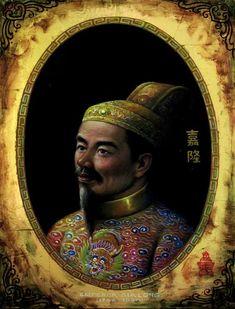 GIA LONG - Chân Dung Các Vua Triều Nguyễn