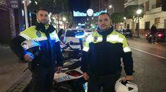 Un policía local salva la vida a un bebé