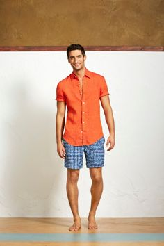 Perry Ellis Spring/Summer their spring/summer 2014 collection in New York last week, Perry Ellis presented the new lineup at Street Loft in… Summer Outfits, Casual Outfits, Men Casual, Casual Clothes, Short Outfits, Spring Summer, Summer 2014, Summer Sun, Summer Wear