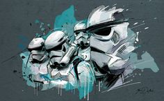 Stormtroopers Created by Yann Dalon