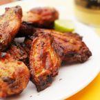 Honey, Mustard Chicken Wings with Dijon Dip Recipe by Ariel Rebel