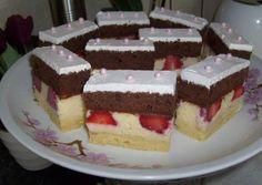 Remek süti , azt hiszem ez is felkerül a kívánságlistámra! Hungarian Recipes, Hungarian Food, Cake Cookies, Nutella, Fondant, Cheesecake, Dessert Recipes, Food And Drink, Cooking Recipes