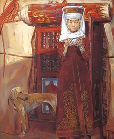 Nurlan Kilibaev - Kazakh (qazaq) painter
